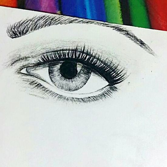 Sketch made by me 😀😃 Human Eye Part Of Eyesight Extreme Close-up Eyelash Close-up Focus On Foreground Person Made By Me Artist Artistic Art, Drawing, Creativity My Sketch (: Shades Pencil Looking At Camera Sketching TakeoverContrast Getting Creative Taking Photos Art Sketch Check This Out Hi! Colors