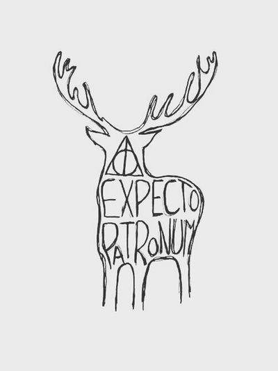 EXPECTO PATRONUM Harry Potter ⚡ Books Fantastic.
