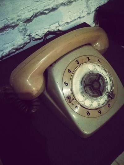 call me you on the telephone but you're never home Telephone Dial Rotary-dial Rotary Phone Vintage ReinaPF Random Indoors  Close-up Music Retro Styled No People Technology Day