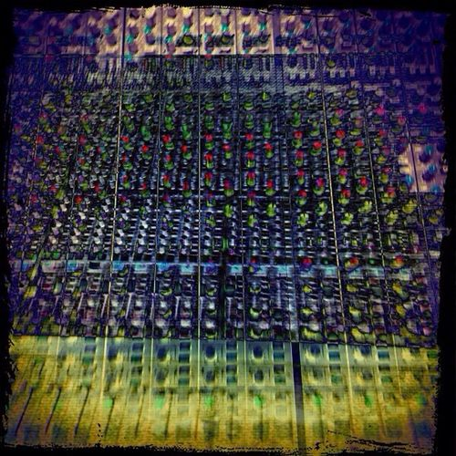 SSL 4000G Lomo In The Studio