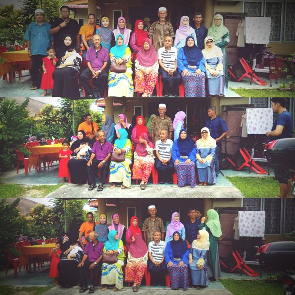 The only people that you really have, are your family because they love you no matter what. Family Family Time Family Love  Family Portrait Raya2017 Harirayaaidilfitri 2017 Multi Colored People Malaysia Truly Asia EyEmNewHere Eye4photography  Eyeemphoto