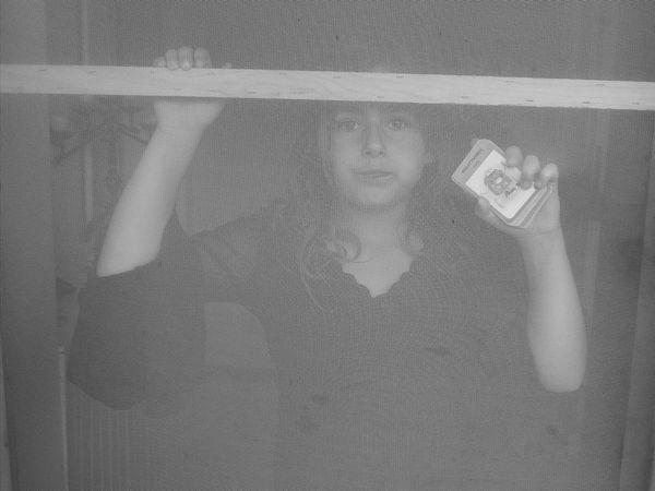 Addiction Prisoner Internet Addiction Black And White Monochrome Girl Portrait Fresh On Eyeem  People