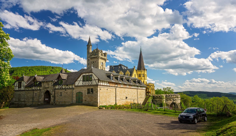 Schloss Rothestein Castle Hessen Germany Schloss_Rothestein Architecture Building Exterior Built Structure Cloud - Sky History No People Osterburg Outdoors Travel Travel Destinations Gilsaburg