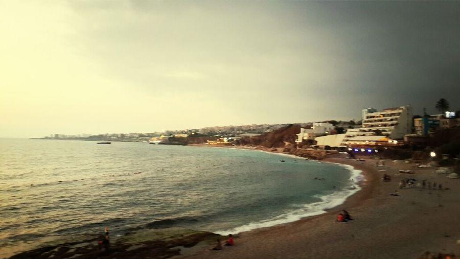 Byblos Jbeil old port by Sunset Jbeil Byblos Lebanon Sea