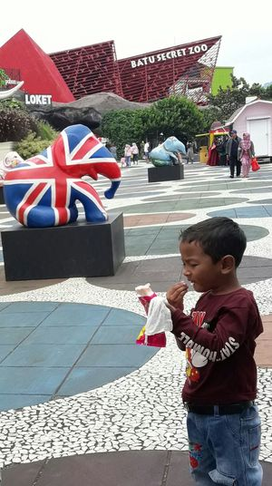 Batu Secret Zoo Malangtrip Fun Family Time Famous Place Family With One Child Elephant Nature Park Childhood Boys Child Day Males  People Outdoors