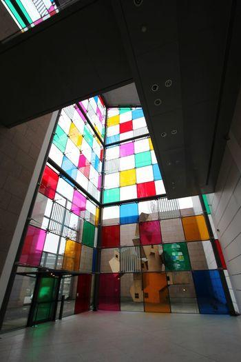 Colors Art Art Museum Strasbourg Strasburg Visiting Museum Modernart Modern Art EyeEm Best Shots Modern Architecture