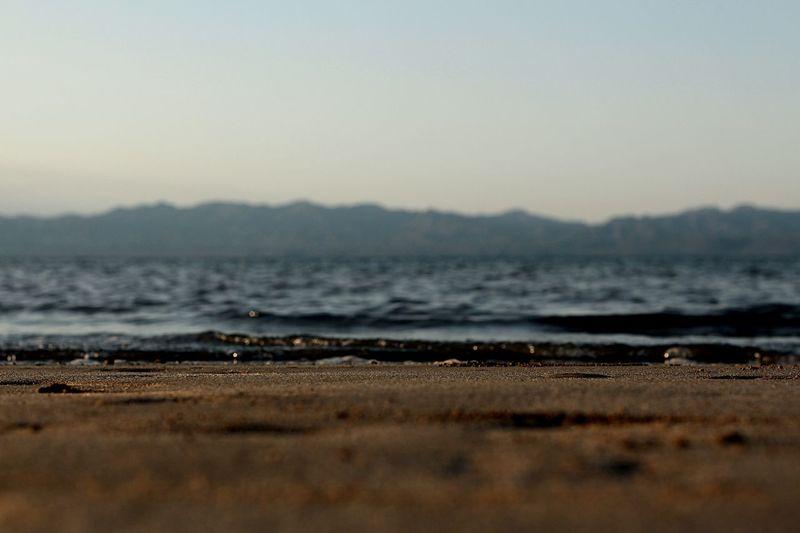 Depth Of Field Sea Sky Sand Of Painterly Graphic تصويري  من تصويري سماء بحر
