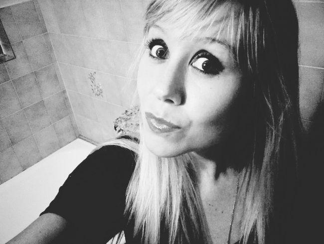 Selfie ✌ Black & White Pout:* That's Me