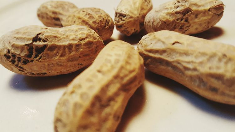 Peanuts Hanging Out Peanut Shells Nuts Pattern, Texture, Shape And Form Wheel Food Snacks!