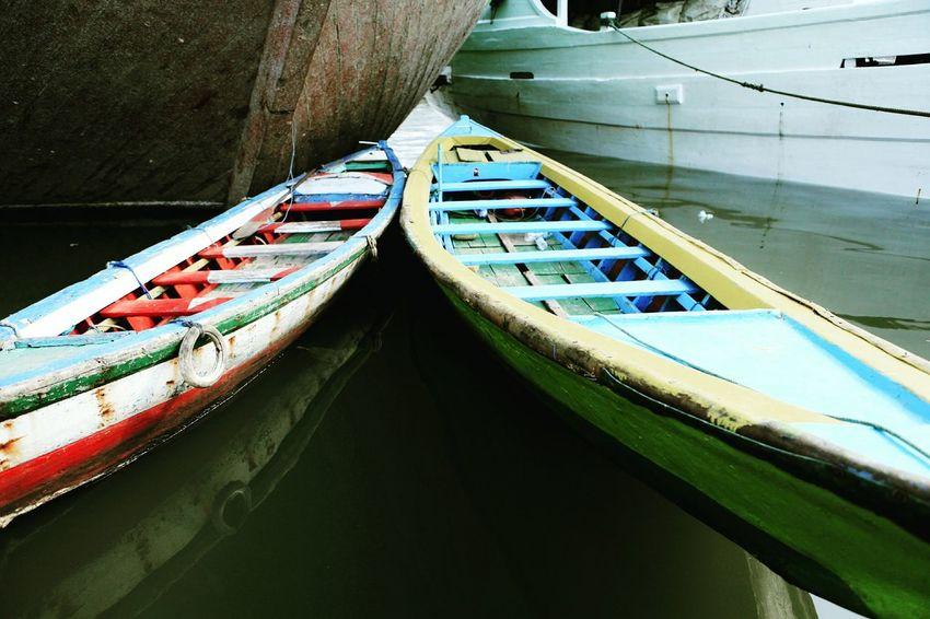Perahu dipelabuhan sunda kelapa indonesia