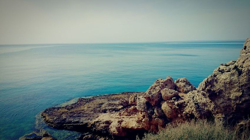 SEA what you SEE Samsungnote3 EyeEm Selects EyeEmNewHere Sea Beach Horizon Over Water Nature Tranquility Tranquil Scene Outdoors Water No People Day Beauty In Nature Wave EyeEmSelect Nature Stone Syria  Landscape Lattakia Cornish Coast Old Shot Old Pic