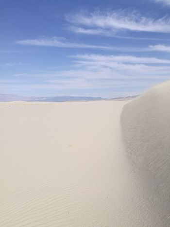 Sand Sky Sand Dune Desert Scenics Beauty In Nature Landscape Day Purity No People California Olancha Wind