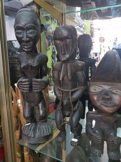 En Bois Wood Camerun Art Africaine Statue Sculpture Arts Culture And Entertainment Store
