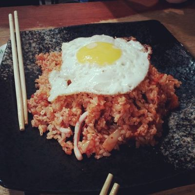 Been craving for this shit for so long. Kimchi fried rice kaboom fuckin good