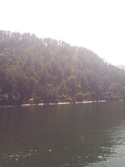 Lake in sarangan madiun indonesia