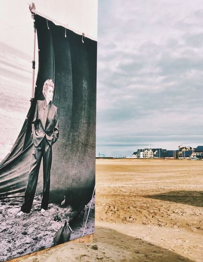 Expo photo Lindbergh Photography Beach Deauville Vogue Lindbergh Horizon Over Water Water
