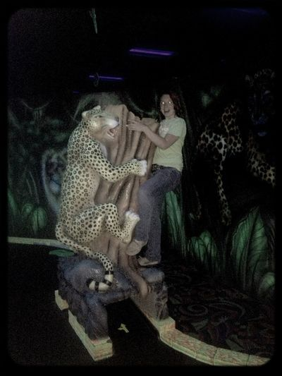 Chillin' With A Leopard