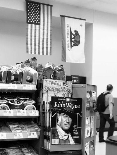Welcome to the USA The USA Flags Stars And Stripes Flag California Republic  John Wayne Magazine Cover Checkout Walmart