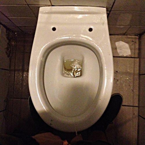 Nature calls Toilet Party Enjoying Life