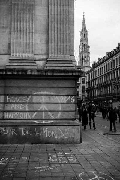 Brussels Attempt Demonstration Manifestation 23-03-16 Bourse Bruxelles Reportage Street Streetphotography Peace