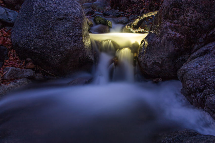 Light Painting Creek Landscape Relaxing Nature Arizona Langzeitbelichtung Time Lapse Long Exposure Enjoying Flashlights