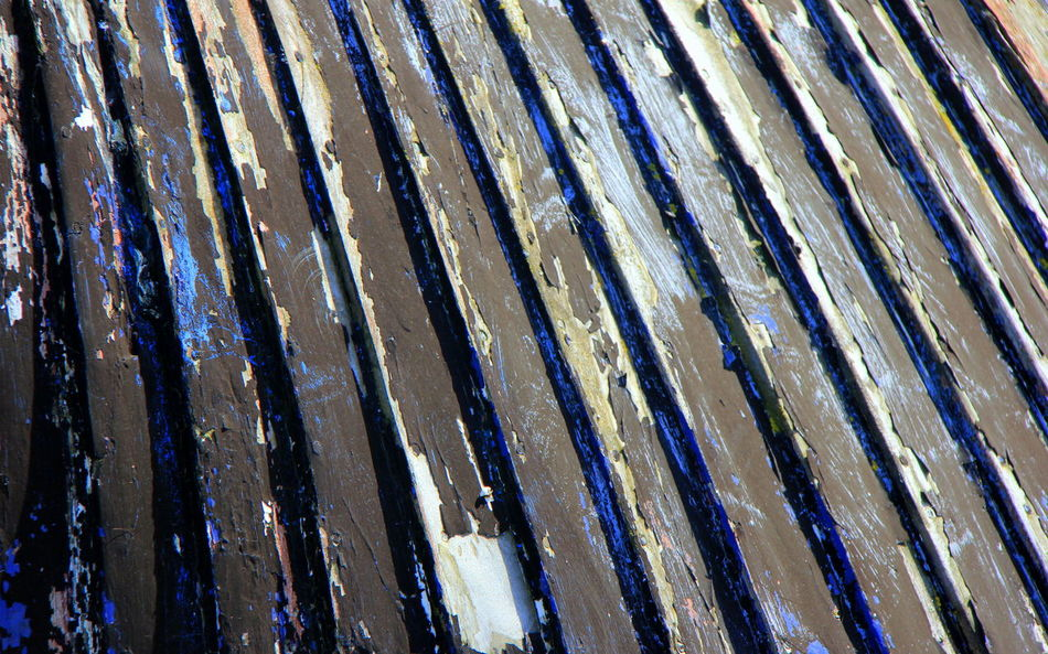 Backgrounds Boat Close-up Day Flaked Paint Full Frame Hull Nature No People Outdoors Planks Textured  Upturned Boat