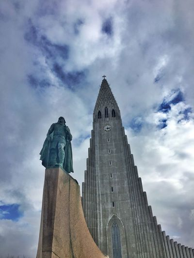 Church Architecture Explorer Reykjavik Sky And Clouds Iceland116 Iceland_collection
