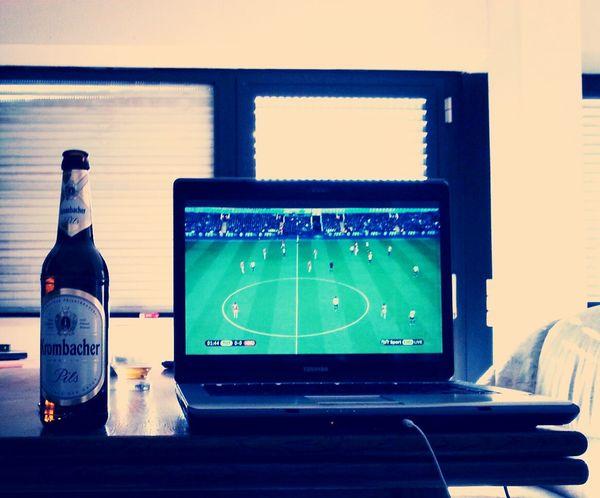 Relaxing Krombacher Football Bpl