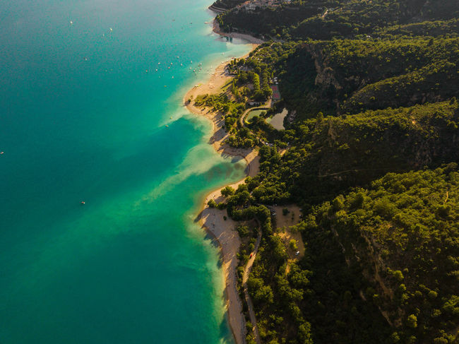 Lac de Sainte Croix, Gorges du Verdon and surroundings Drone  Verdon Aerial View Bay Beach Beauty In Nature Coastline Day Drone Photography Dronephotography Droneshot Environment Gorges Du Verdon Green Color High Angle View Island Lac Lagoon Lake Land Landscape Nature No People Outdoors Plant Sainte Croix Sainte Croix Du Verdon Scenics - Nature Sea Tree Verdon Gorge Water