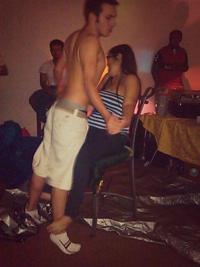 My birthday lap dance