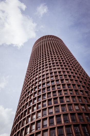 Architecture Building Building Exterior Built Structure City Cloud - Sky Day Height Low Angle View Modern Nature No People Office Office Building Exterior Outdoors Pattern Sky Skyscraper Tall - High Tower Window