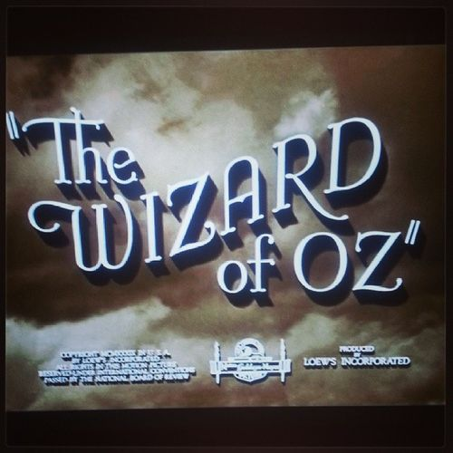 Movie in Carnival Classic Thewizardofoz WickedisComing *--*