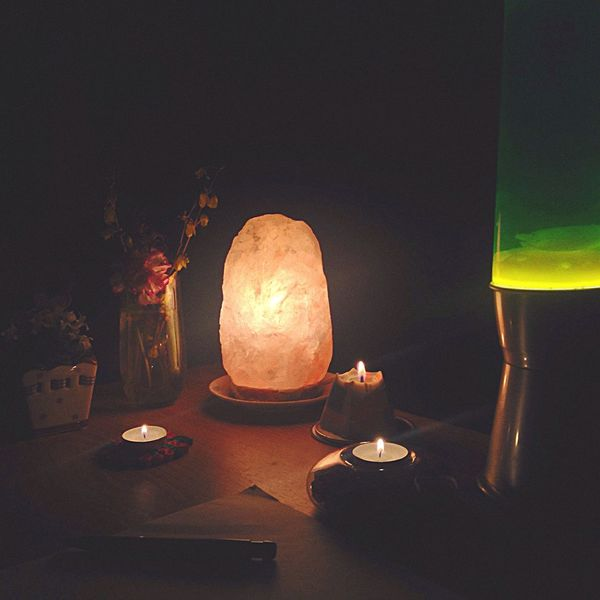 Home Lamp Saltlamp Writing Writing Poems Relaxing Mood Moody Night Candles Candlelight