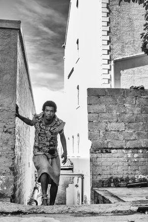 Built Structure Human Representation Lifestyles RASTA Street Portrait The Human Condition Urban Urban Geometry Urban Lifestyle Wall B&w Street Photography Monochrome Photography
