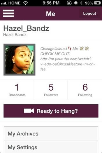 Follow Me On Hang