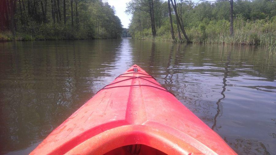 Mazury Canoeing Tranquility Redcanoe