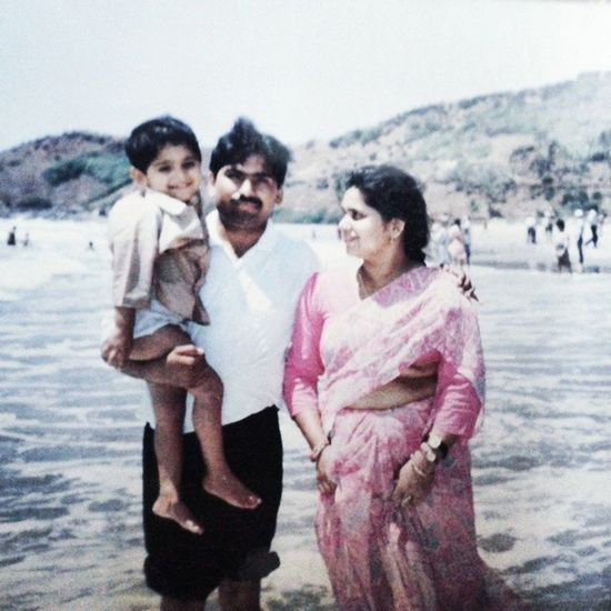 Childhood is the best phase of life :) Childhood Innocence Sea Sealove family familypicture cutebachha bachpan happylife :)