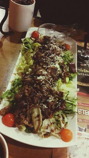 Salad Bulgogi