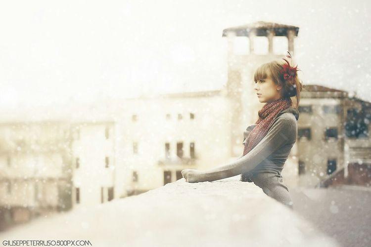 Deepfreeze Portrait Verona Snow Breeze Mood Blur Fashion Canon Awesome Its Cold Outside