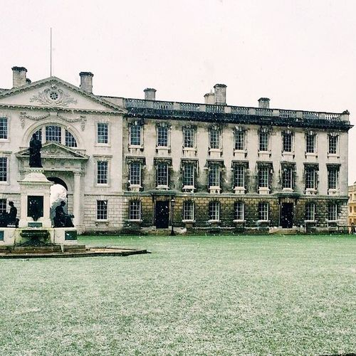 King's College Snow Landscape