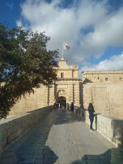 Game Of Thrones Malta Mediterranean  Architecture Building Building Exterior Built Structure City Cloud - Sky Flag Game Of Thrones Location History Mdina Travel Travel Destinations