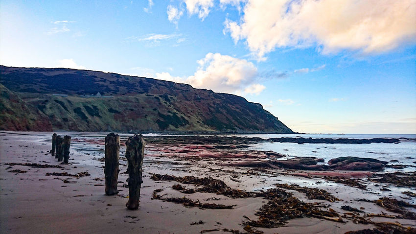 Gardenstown Photo Evening Sky Beachphotography Photo Photography Nature Cliff Mountain Beauty In Nature
