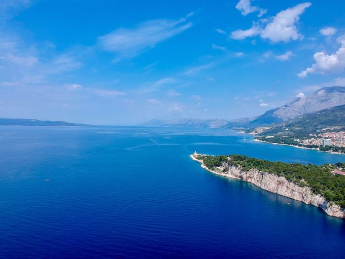 Dalmatien from above Droneshot Dronephotography Drone  Water Sea Sky Scenics - Nature Blue Beauty In Nature Land Beach Tranquility Tranquil Scene Nature Cloud - Sky No People Idyllic Island Outdoors Landscape