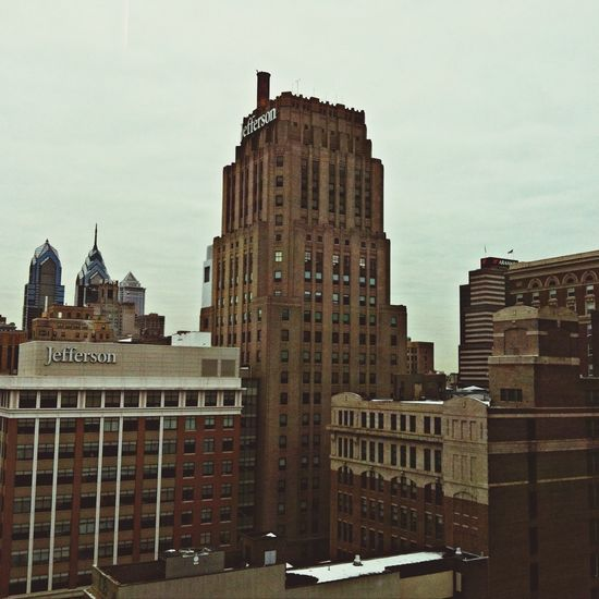 This from the 14th (13th) floor of the Penn Medicine building. Check Up Sick