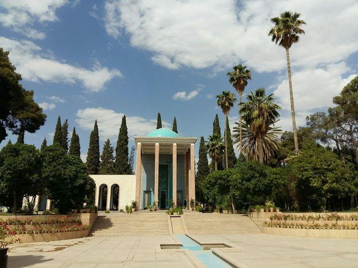 Iran♥ سعدیه On A Trip Architecture Historical Building Photoshoot Shiraz, Iran Hello World Gardening