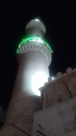 عمر بن الخطاب مباني اسلامية مباني عثمانية Amman Jordan Mosque Masjid City Lightning Sky Built Structure EyeEmNewHere This Is Queer
