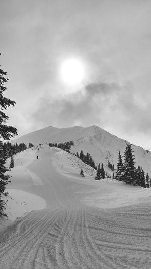 Skiing Snow Aspenhighlands Winter