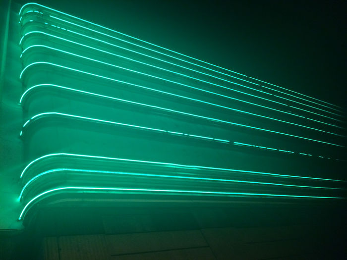 City Life Graphic Green LINE Light Lines London Perspective Starlight Express Angle Background Building Cityscapes Day Future Glow Glowing Green Color Mint Neon Night No People Outdoors Vintage Zoom