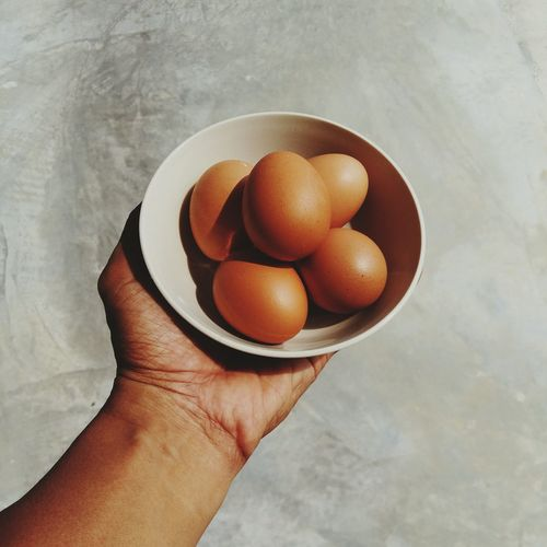 egg day Egg Poultry Chicken Egg Morning Breakfast Cooking Food Still Life Fine Art No People Sunlight Day Hand Bowl EyeEmNewHere