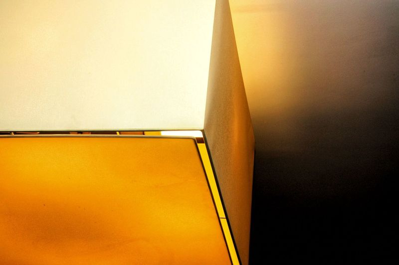Yellow Close-up Architecture